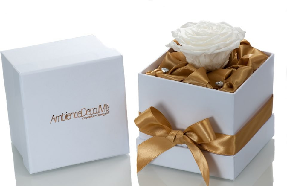 Single-Infinity-White-Rose-in-a-box.