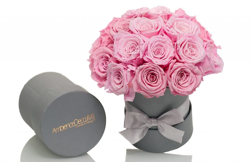 Infinity-pink-roses-Hat-Box