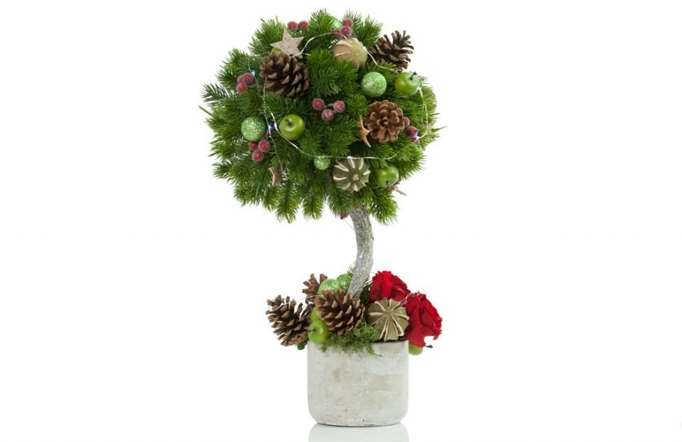 Bespoke artificial-Topiary-Christmas-Tree
