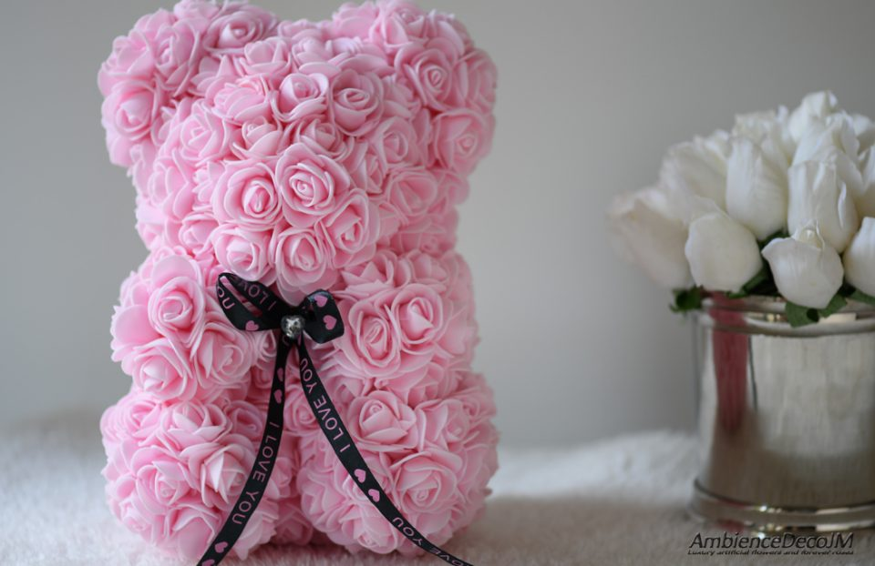 Flower Bear Light Pink