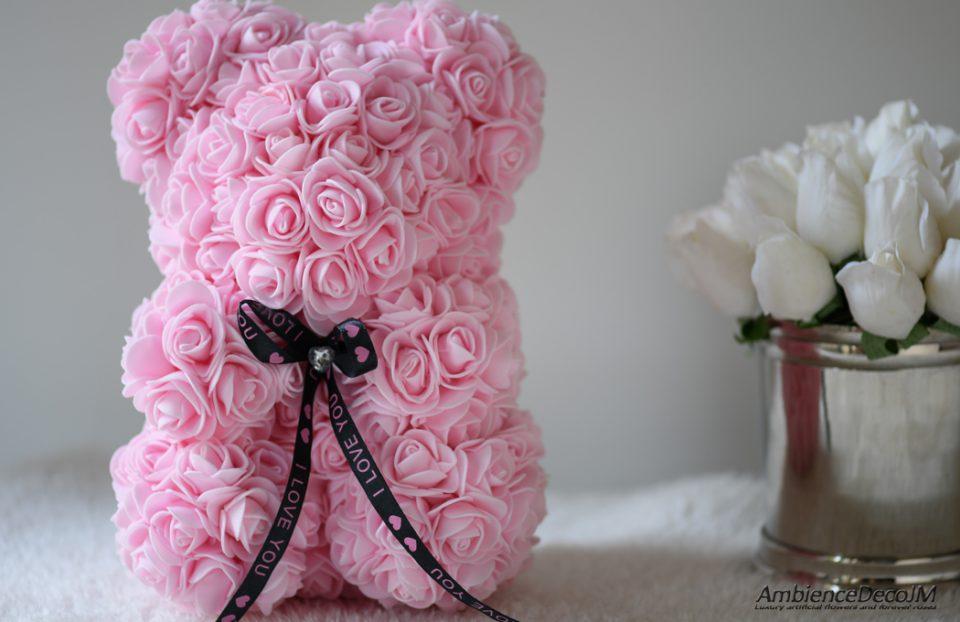 Flower Bear Light Pink