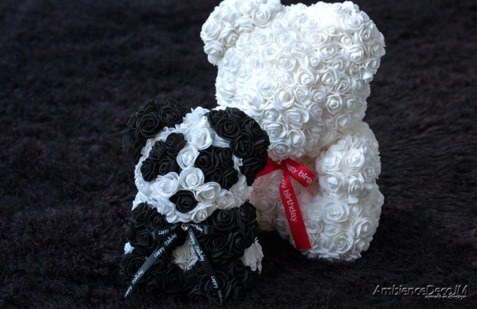Rose bear panda