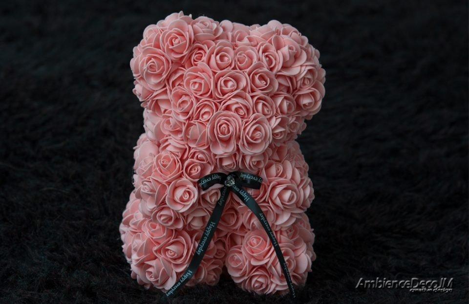 Rose Bear Peach