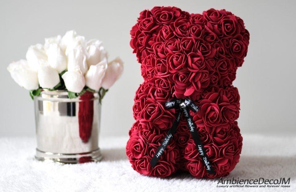 flowerbearburgundy