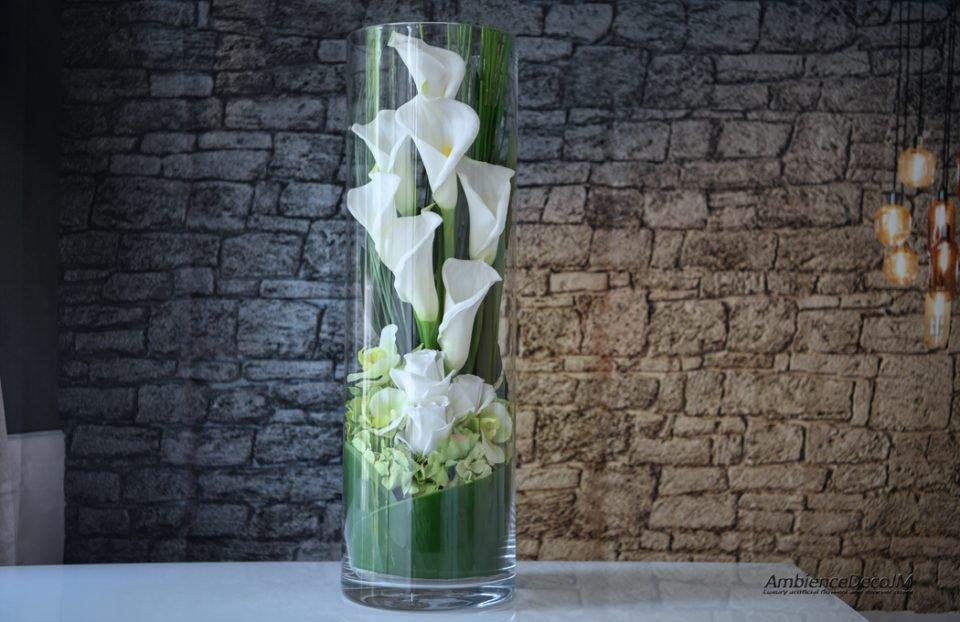Real touch flower arrangement